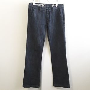4/20$ Hurley 99 low rider blue bootcut jeans